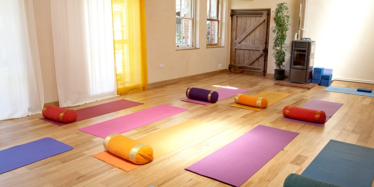 Redfield Centre Yoga room in Winslow